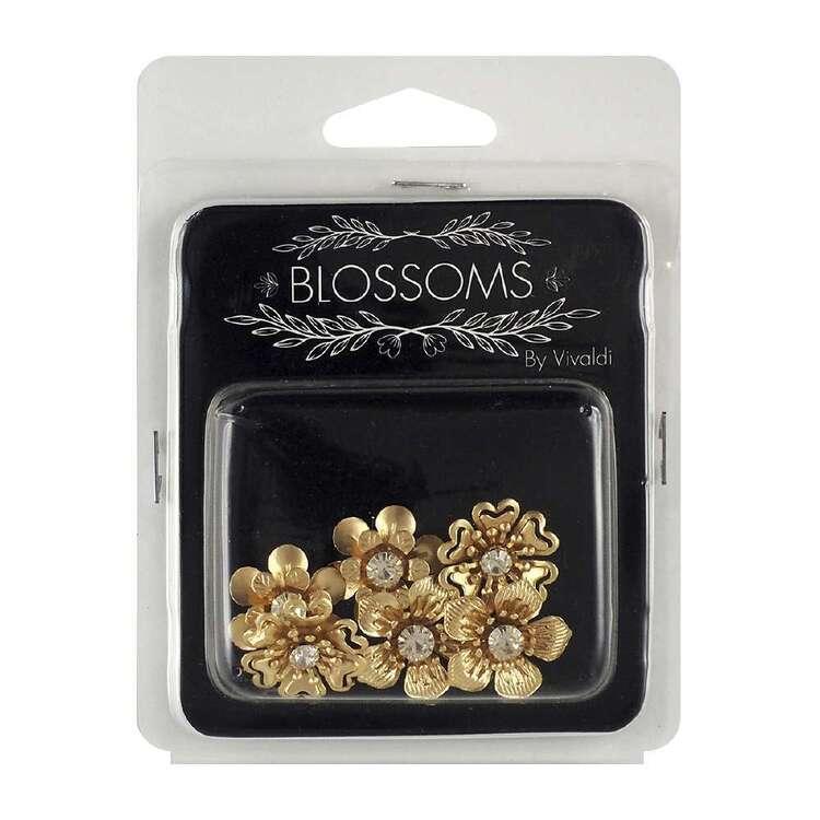 Vivaldi Blossoms 6 Pack Gold Flower