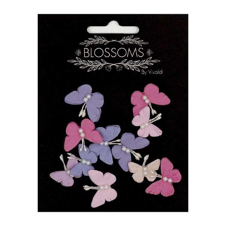 Vivaldi Blossoms 11 Pack Butterfly Paper