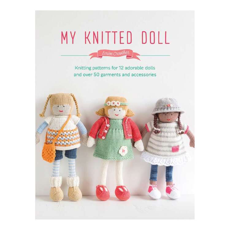 Search Press My Knitted Doll Book