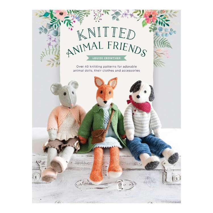 Search Press Knitted Animal Friends