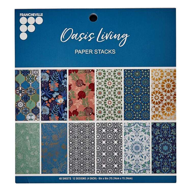 Francheville 6 x 6 in Oasis Living Paper Pad