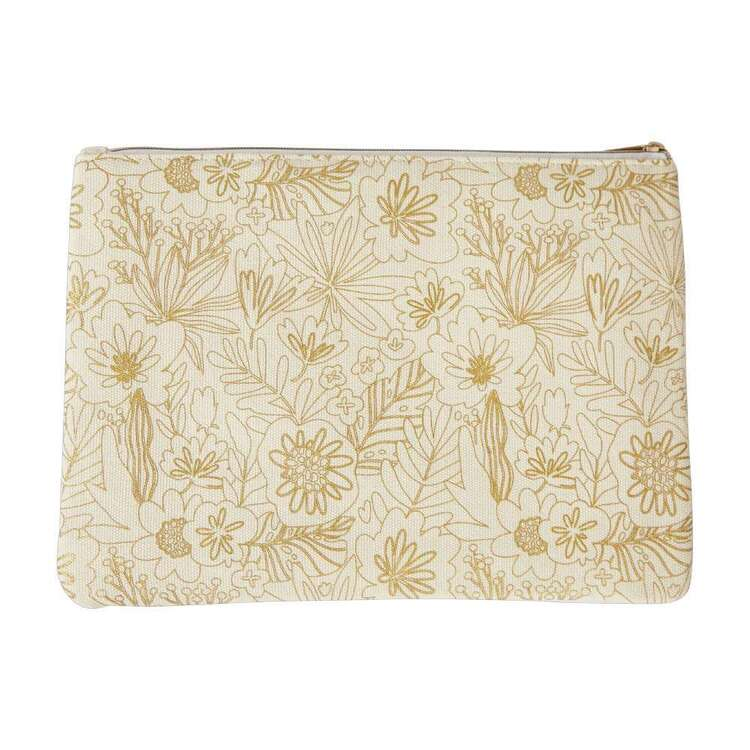 Crafters Choice Francheville Flower With Foil Pencil Case