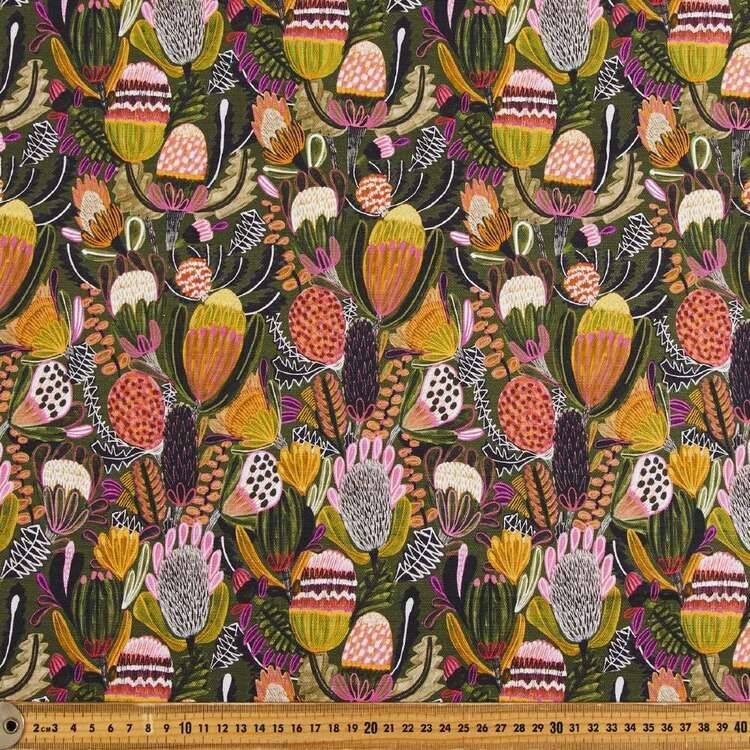 Kirsten Katz Bush Banksia Curtain Fabric