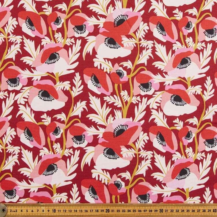 Kirsten Katz Poppies Curtain Fabric