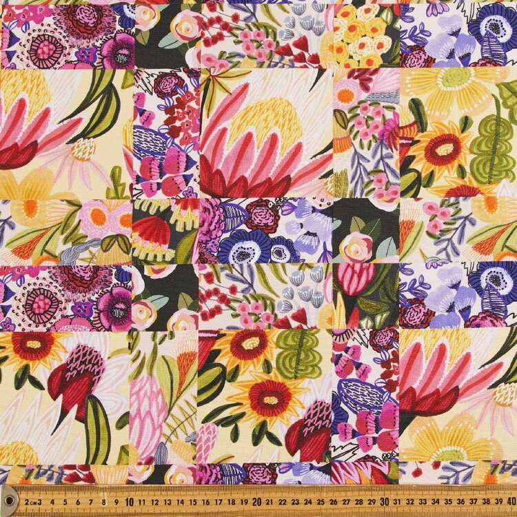 Kirsten Katz Patchwork Curtain Fabric