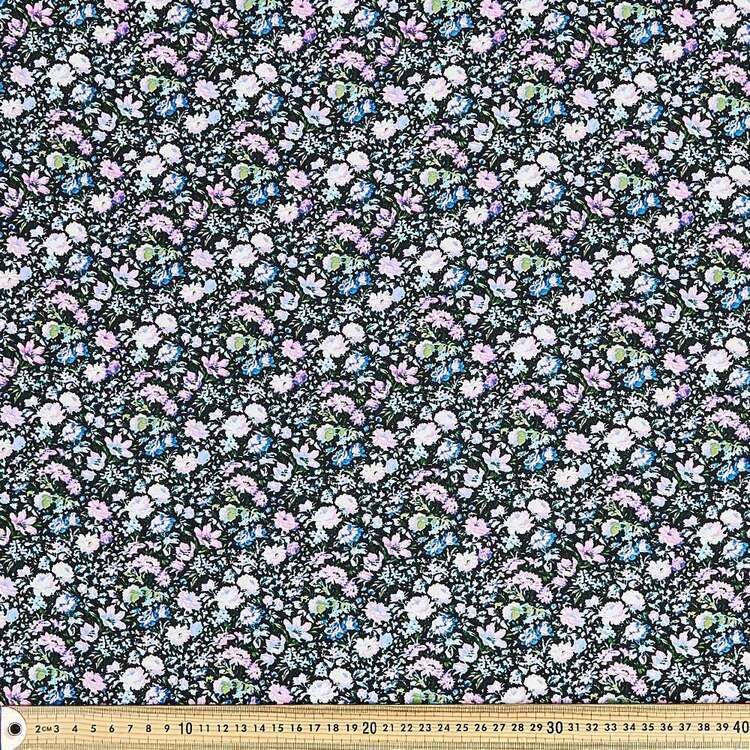 Hazed Printed 135 cm Rayon Fabric