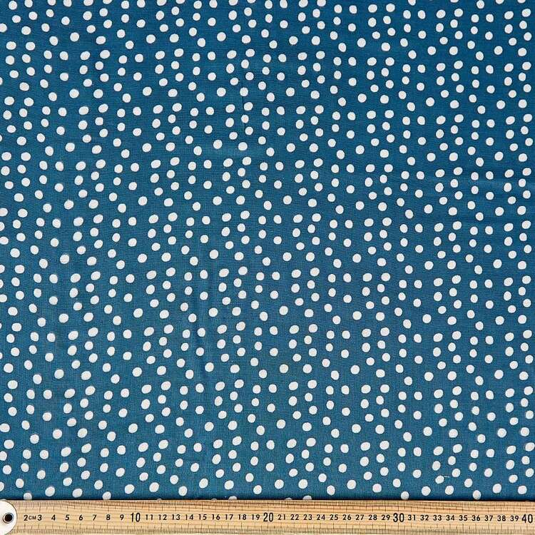 Dots Printed 130 cm Crinkle Double Cloth Fabric