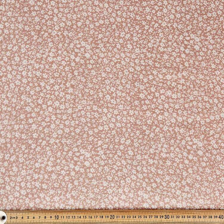 Ditzy Printed 130 cm Crinkle Double Cloth Fabric