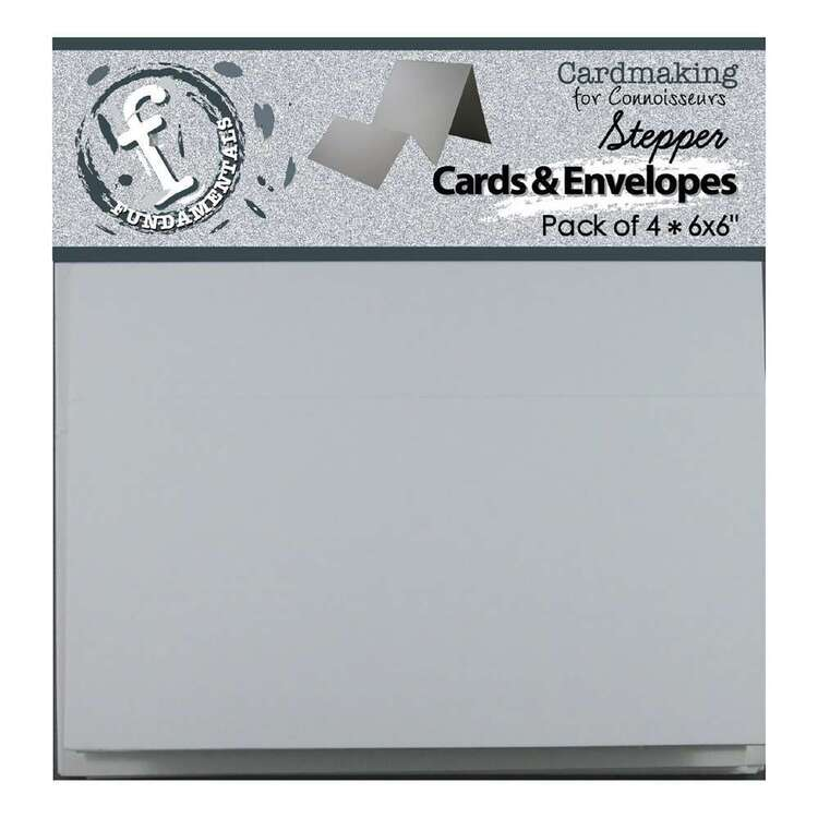 Fundamentals 4 packs Stepper Cards & Envelopes