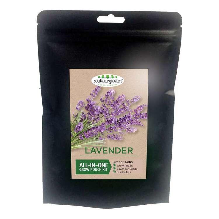 Boutique Gardens Lavender Grow Pouch Kit