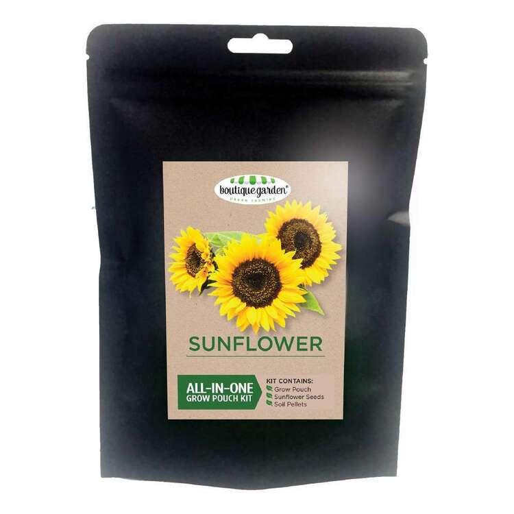 Boutique Gardens Sunflower Grow Pouch Kit