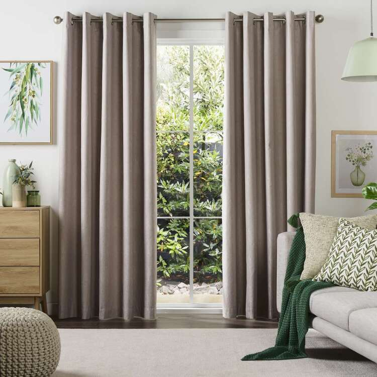 KOO Camilla Blockout Eyelet Curtains