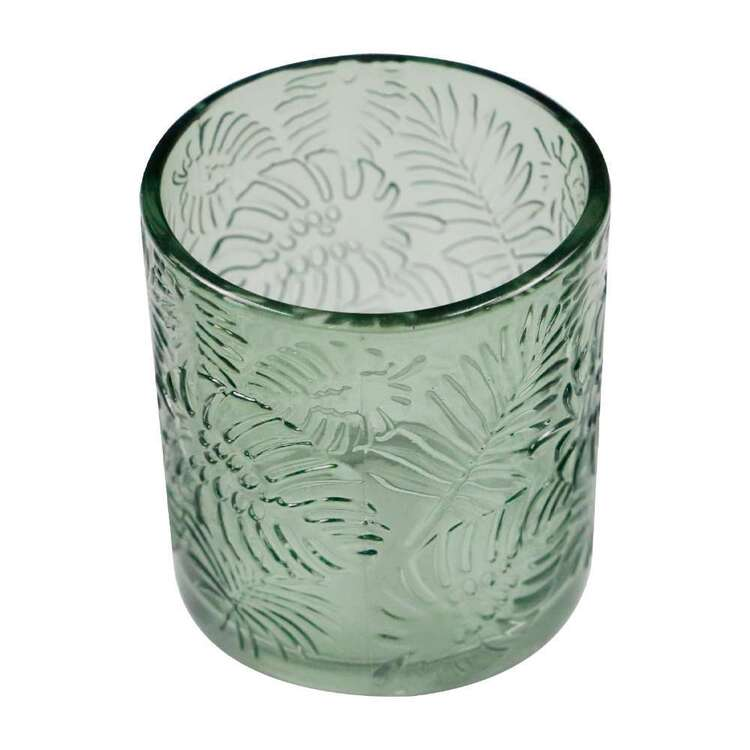 Ombre Home Urban Jungle 7.2 x 8 cm Glass Fern Candle Holder
