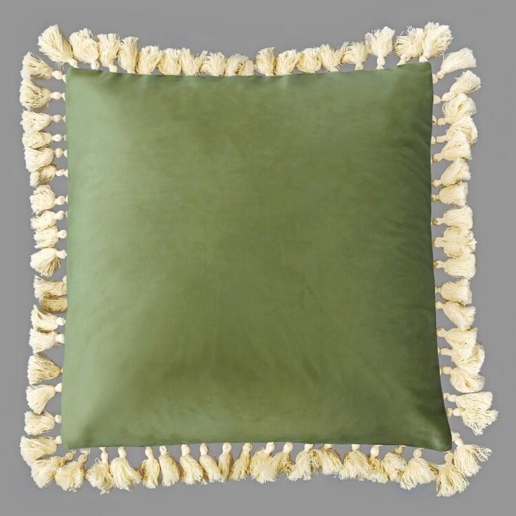 Ombre Home Urban Jungle Tassel Cushion