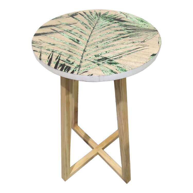 Ombre Home Urban Jungle Fern Wooden Table
