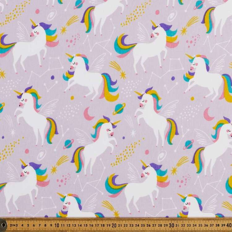 Magical Horses 120 cm Multipurpose Cotton Fabric
