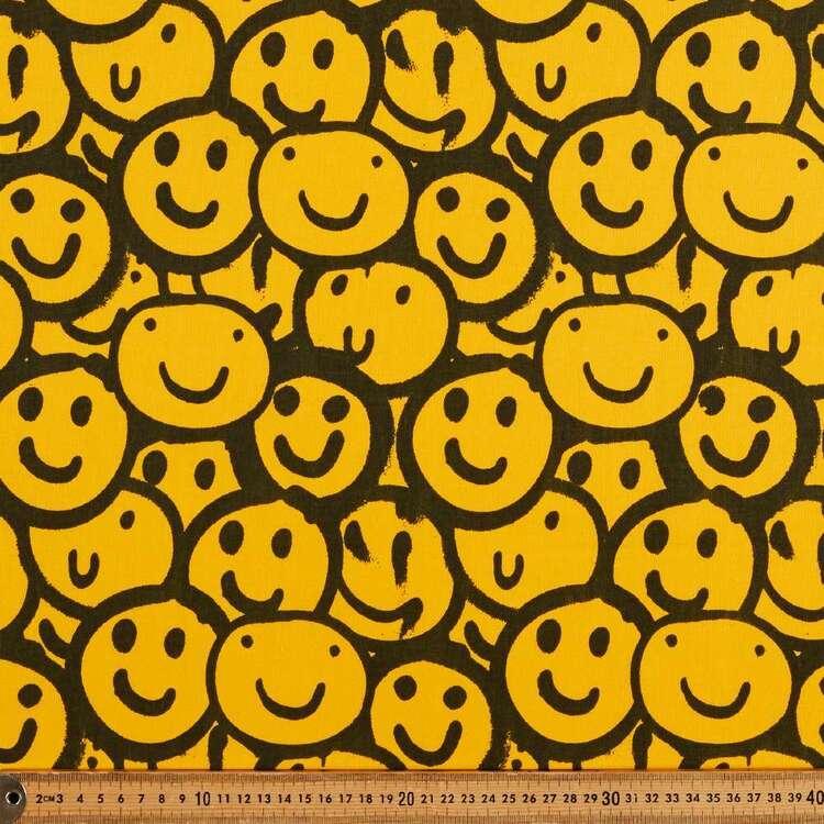 Smiles Allround 120 cm Multipurpose Cotton Fabric