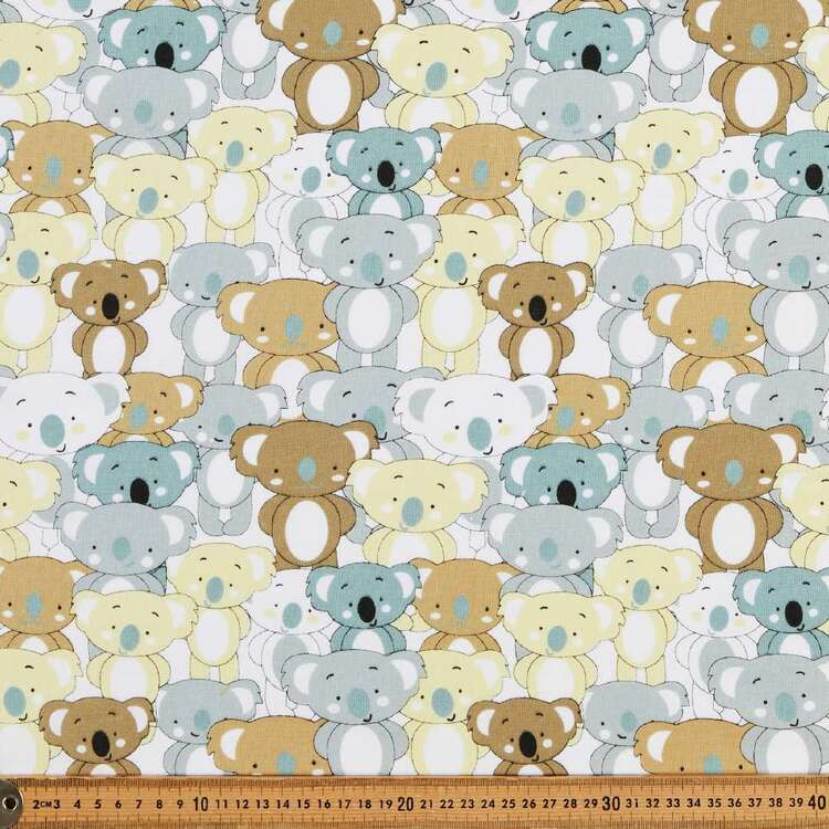 Koala 120 cm Multipurpose Cotton Fabric