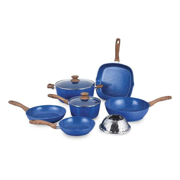 Stonedine Plus Natura 9 Piece Cookware Set