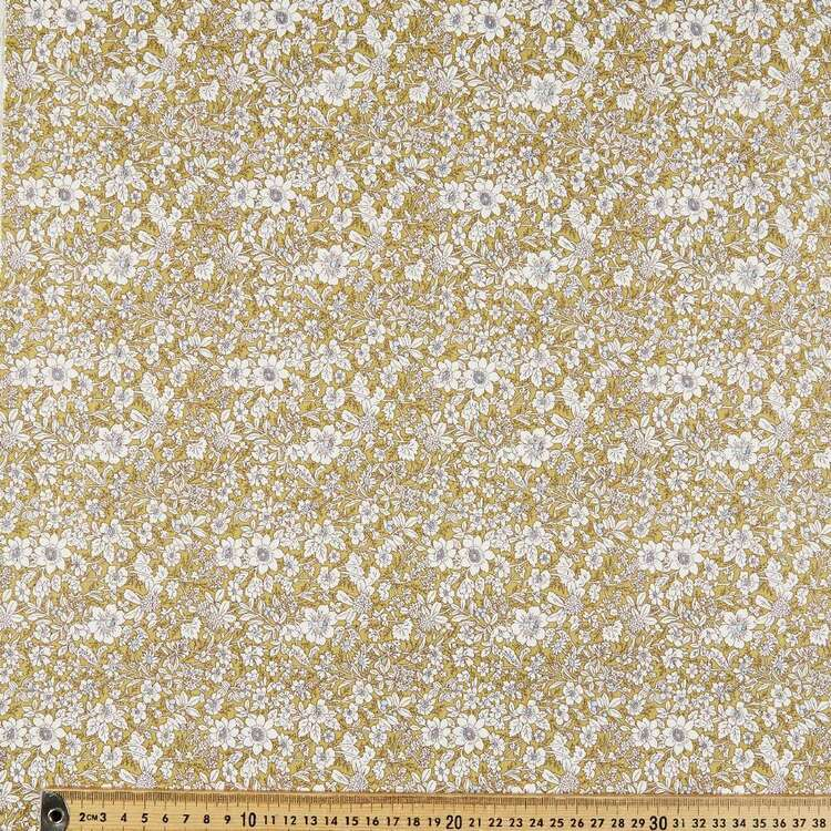 Rose & Hubble Vintage Garden Cotton Fabric