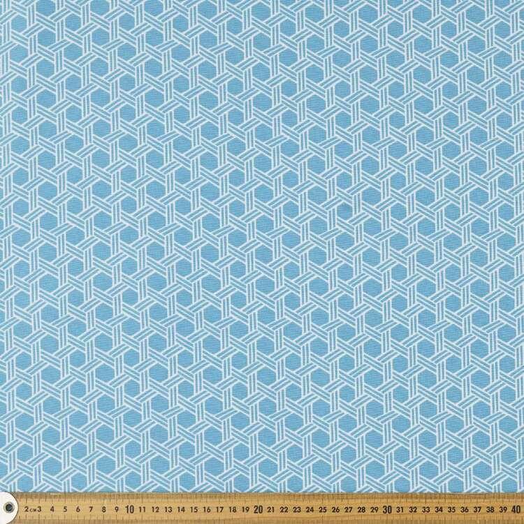 Basketweave 150 cm Weatherproof Canvas Fabric