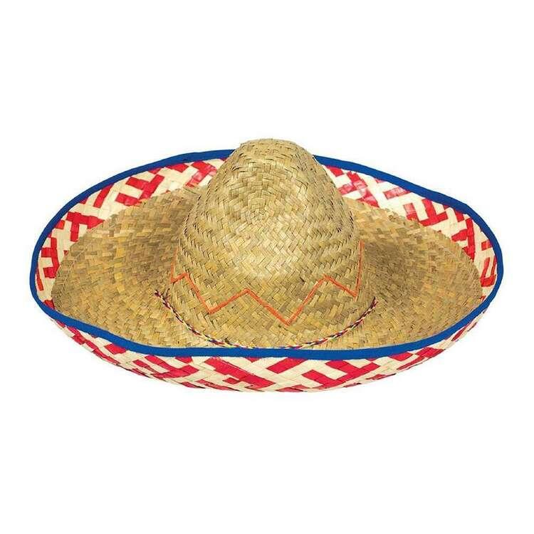 Amscan Fiesta Sombrero Straw Hat
