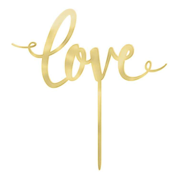 Amscan Love Cake Topper