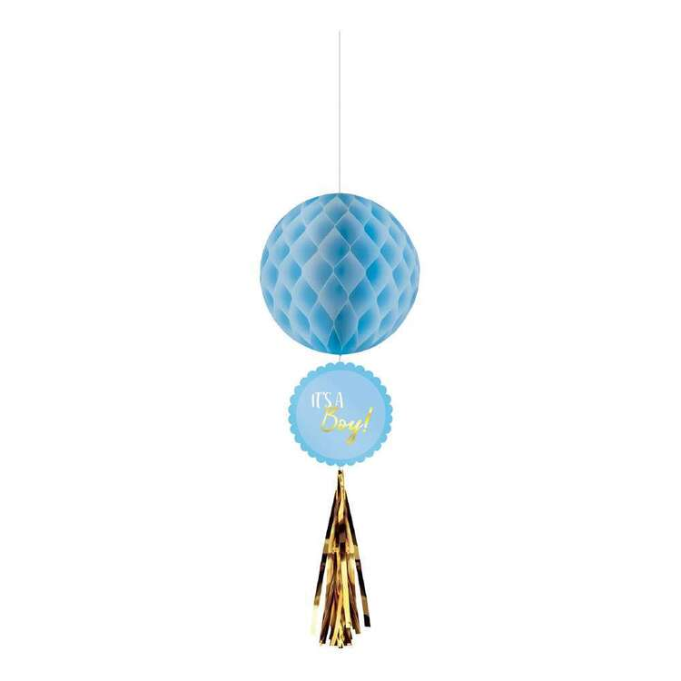 Amscan Baby Shower Honeycomb Decorations 3 Pack