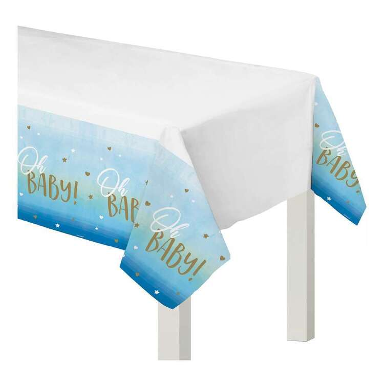 Amscan Oh Baby Boy Plastic Table Cover