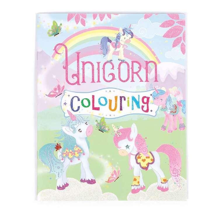 Woodtree Unicorn Colouring Book