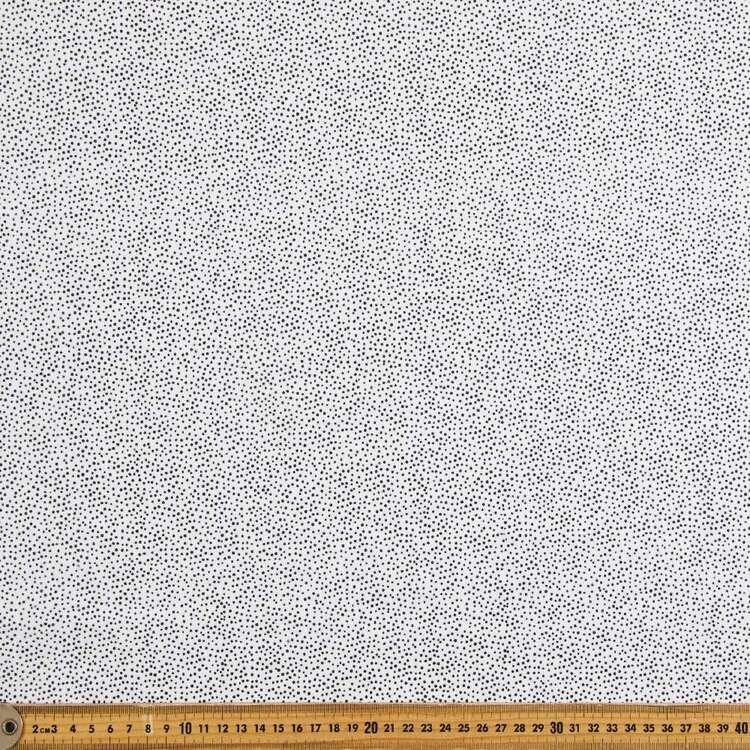 Hail Spot Printed 112 cm Flannelette Fabric