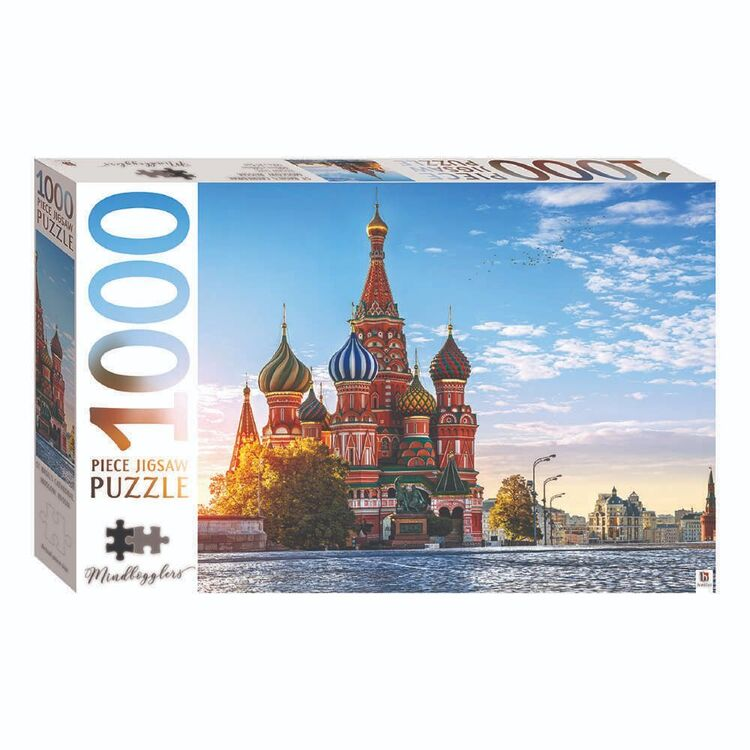 Mindbogglers Russia 1000 Pieces Jigsaw Puzzle