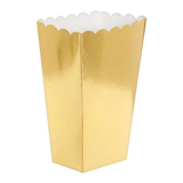 Amscan Small Metallic Popcorn Favour Boxes