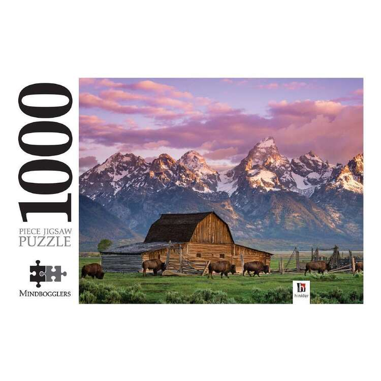 Mindbogglers Wyoming 1000 Pieces Jigsaw Puzzle Multicoloured