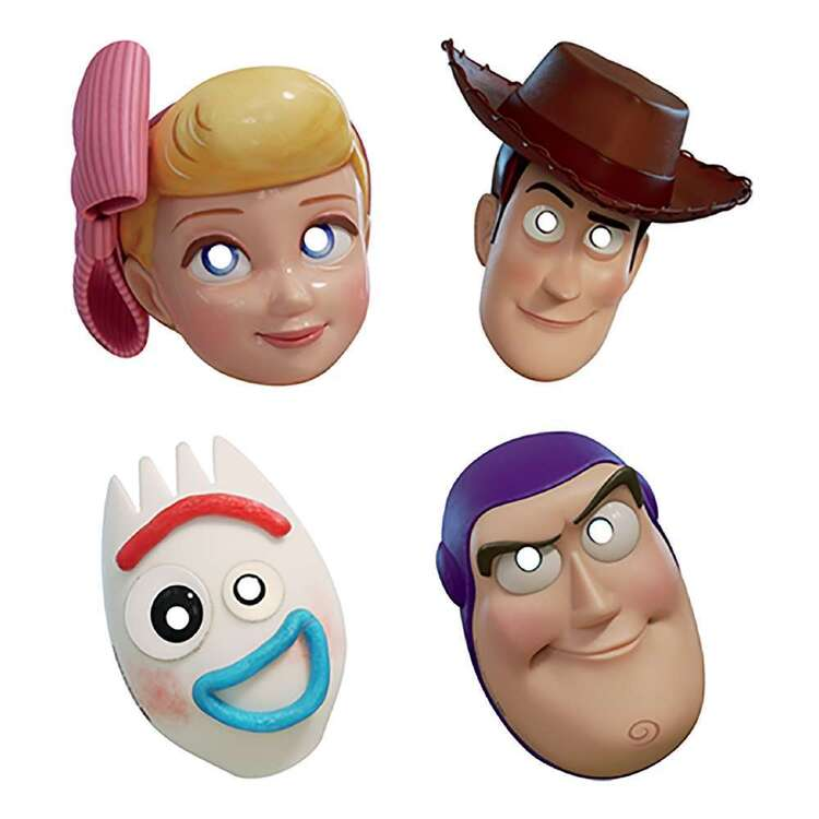 Amscan Toy Story 4 Paper Masks 8 Pack