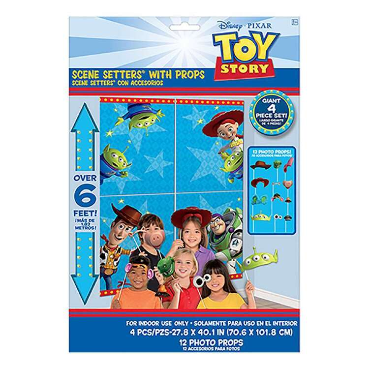 Amscan Toy Story 4 Scene Setter With Props