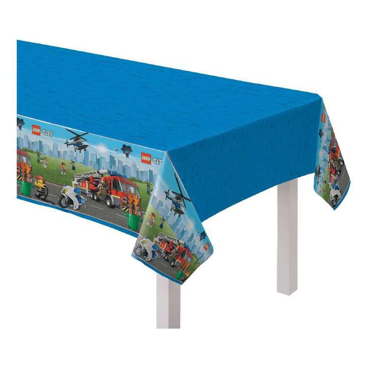 Amscan Lego City Party Plastic Table Cover 1 Piece