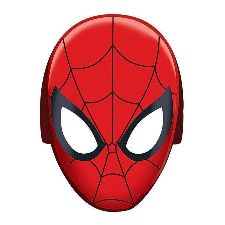 Amscan Spider-Man Webbed Wonder Paper Masks 8 Pack