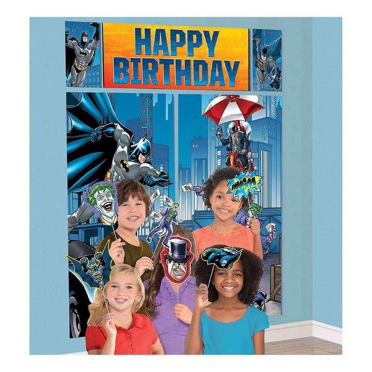 Amscan Batman Happy Birthday Scene Setter & Props