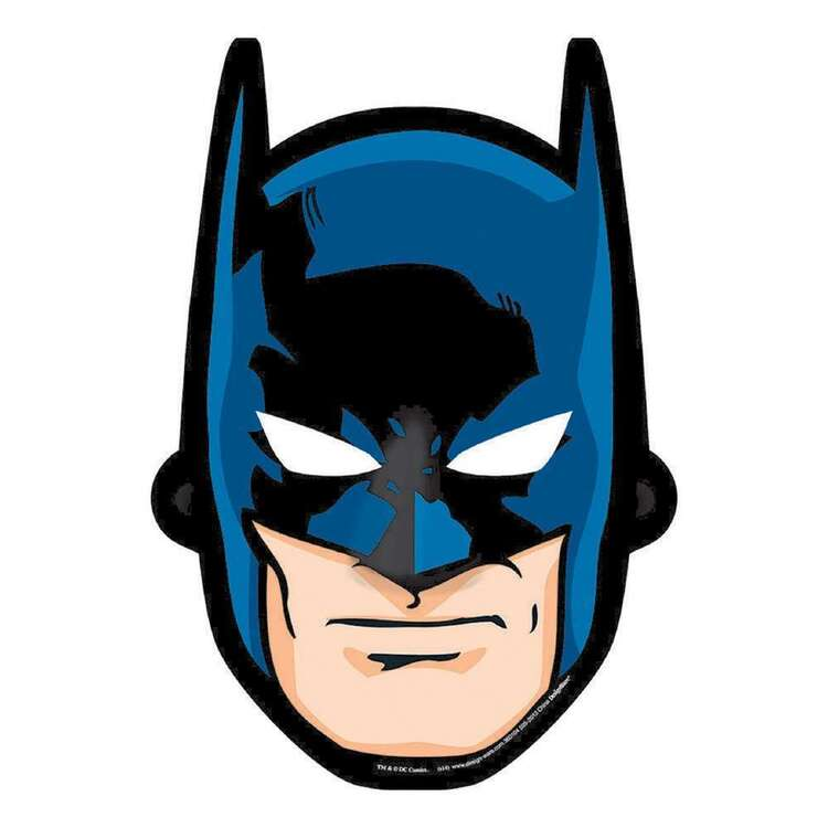 Amscan Batman Paper Masks 8 Pack