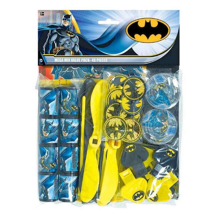 Amscan Batman Mega Mix Favour Value Pack