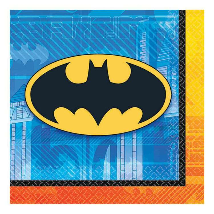 Amscan Batman Beverage Napkins 16 Pack