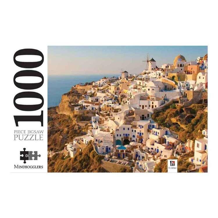 Mindbogglers Santorini 1000 Pieces Jigsaw Puzzle