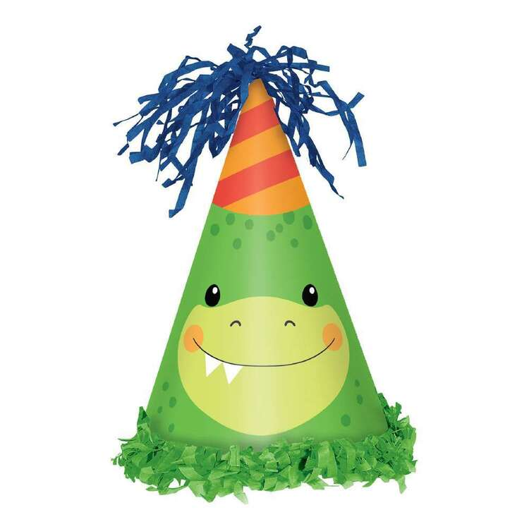 Amscan Dino-Mite Party Hats 8 Pack