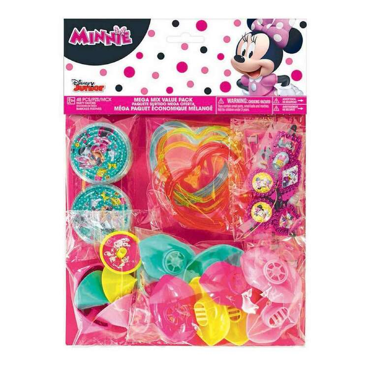 Amscan Minnie Helpers Mega Mix Value Pack