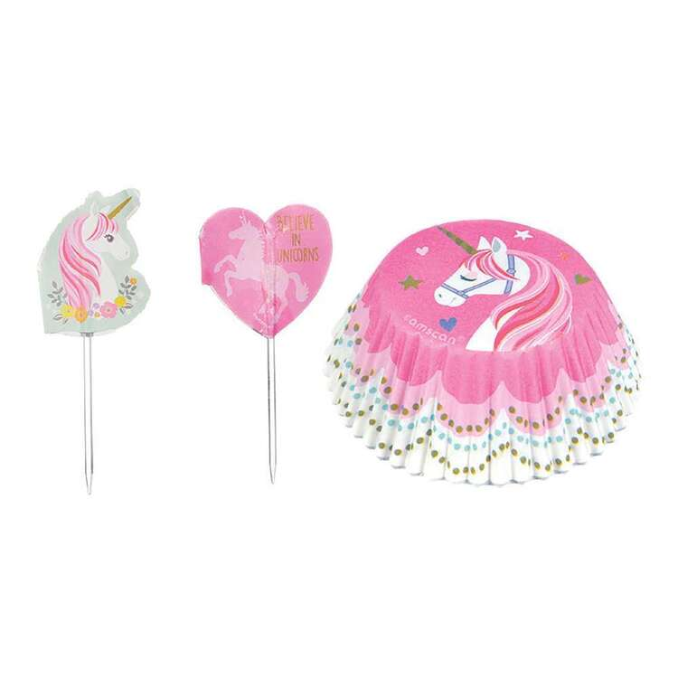 Amscan Magical Unicorn Cupcake Kit 24 Pack