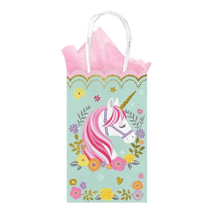 Amscan Magical Unicorn Small Glitter Treat Bags 10 Pack