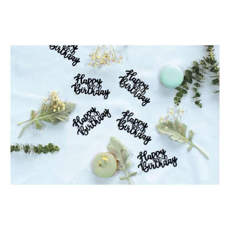 Five Star Happy Birthday Jumbo Foil Confetti 10 Pack