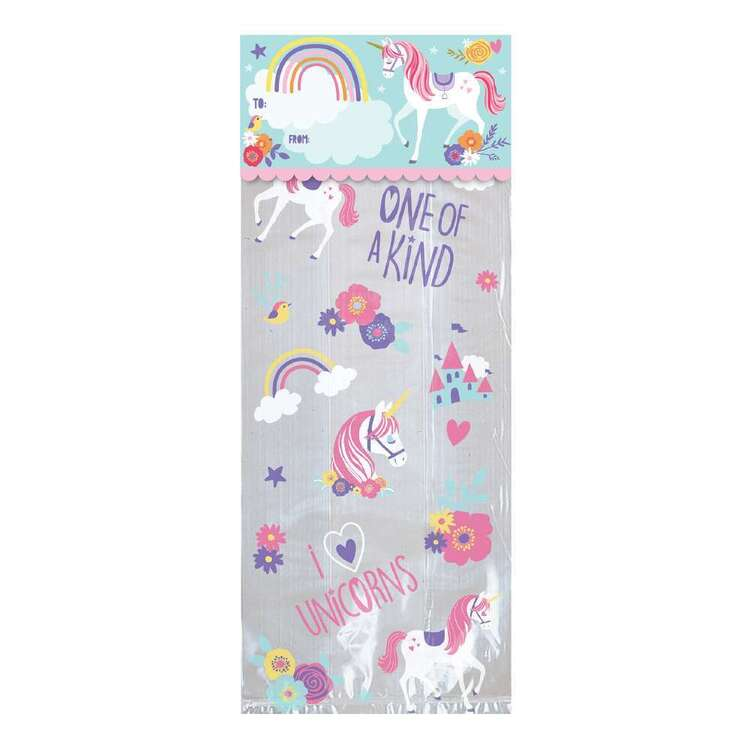 Amscan Magical Unicorn Treat Bag Kit 20 Pack