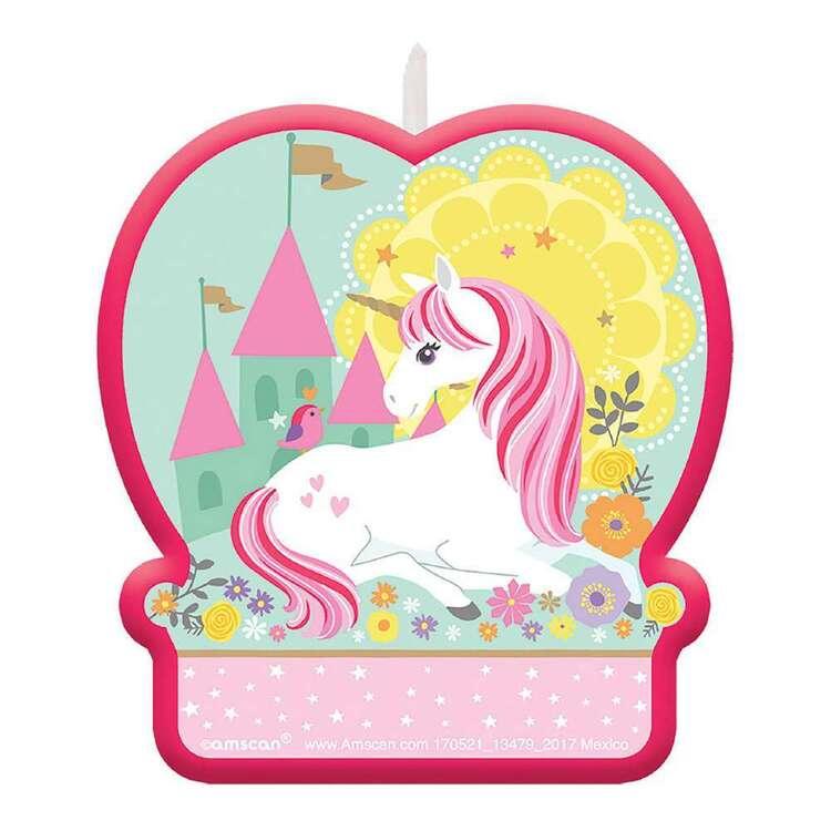 Amscan Magical Unicorn Birthday Candle